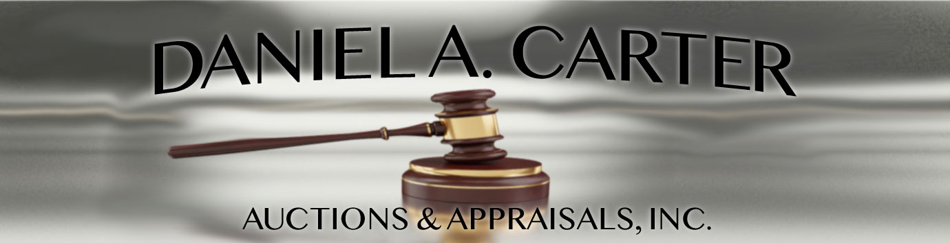Daniel A. Carter Auctions and Appraisals, Inc. - Accredited Auctioneer and Appraiser