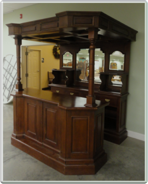 Antique Back Bar Rental from Daniel A. Carter